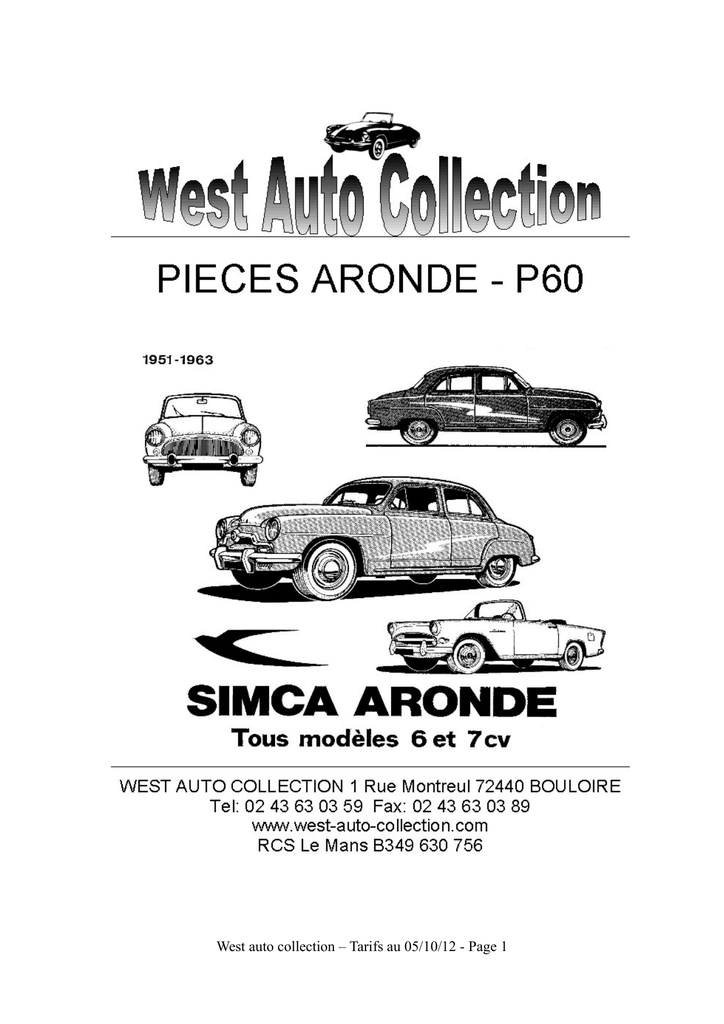 West auto collection