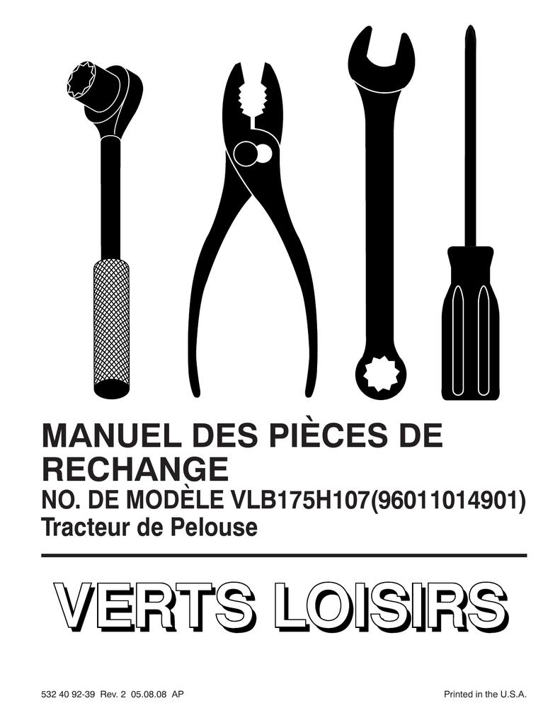 IPL, Verts Loisirs, VLB175H107, 96011014901, 2008-08
