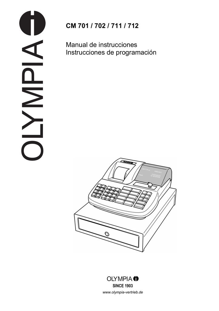 CM 701 / 702 / 711 / 712 Manual de instrucciones