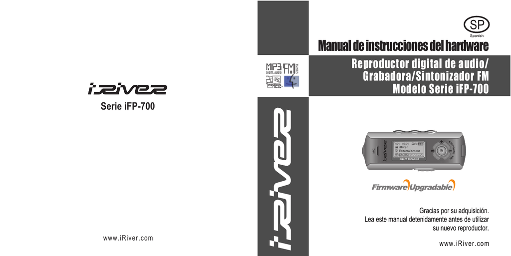 IRIVER IFP-790 VISTA DRIVER