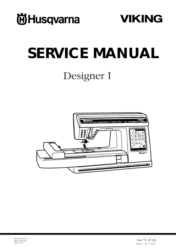 Husqvarna viking s215 sewing machine manual