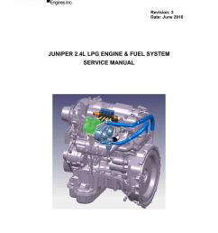 juniper 2 4l lpg engine fuel system service manual [ 791 x 1024 Pixel ]