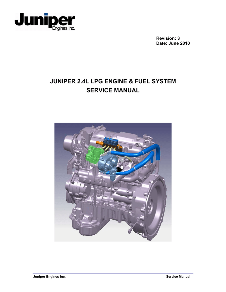 medium resolution of juniper 2 4l lpg engine fuel system service manual