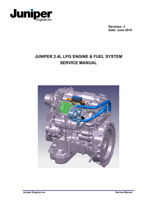 small resolution of juniper 2 4l lpg engine fuel system service manual