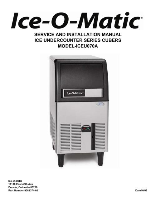 small resolution of iceu070 service manual ice o
