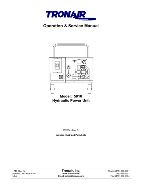 small resolution of tronair hydraulic wiring diagram manual wiring diagram autovehicle operation service manual manualzz comtronair hydraulic