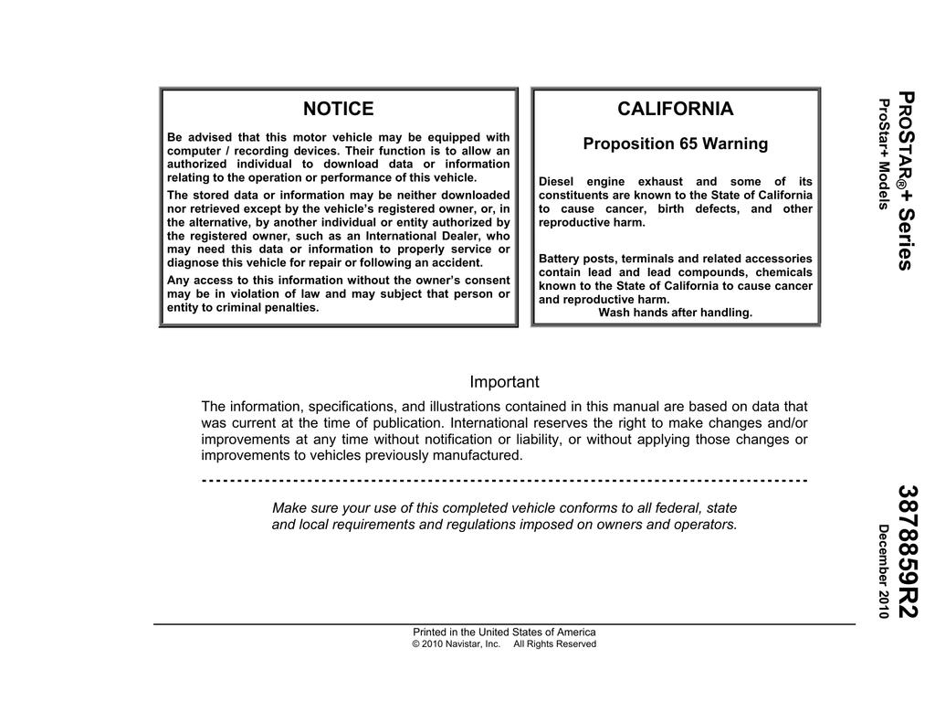 hight resolution of international pro star operator s manual