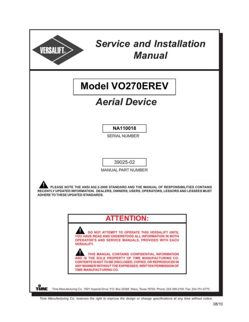 small resolution of option hyd 1330 5 versalift east llc manualzz comoption hyd 1330 5 versalift east