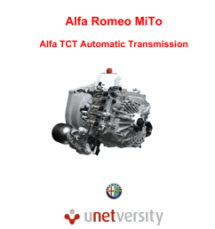 alfa romeo mito alfa tct automatic transmission 1 alfa tct document changes updates date contact file name description of change 2010 fiat group  [ 791 x 1024 Pixel ]