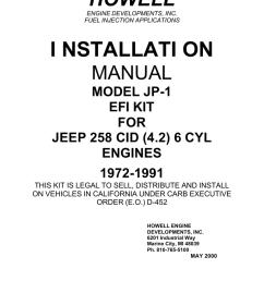 i nstallati on howell engine developments inc  [ 791 x 1024 Pixel ]