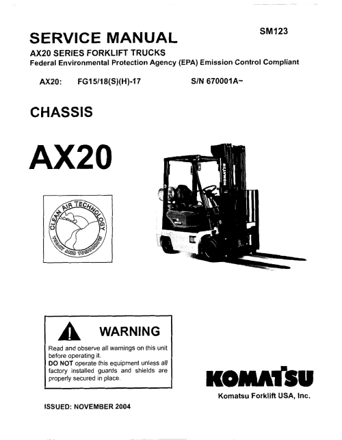 small resolution of service manual komatsu forklift usa inc v3 1