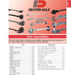 axle assemblies redneck trailer supplies [ 786 x 1024 Pixel ]