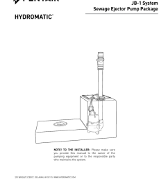 jb 1 system sewage ejector pump package [ 791 x 1024 Pixel ]