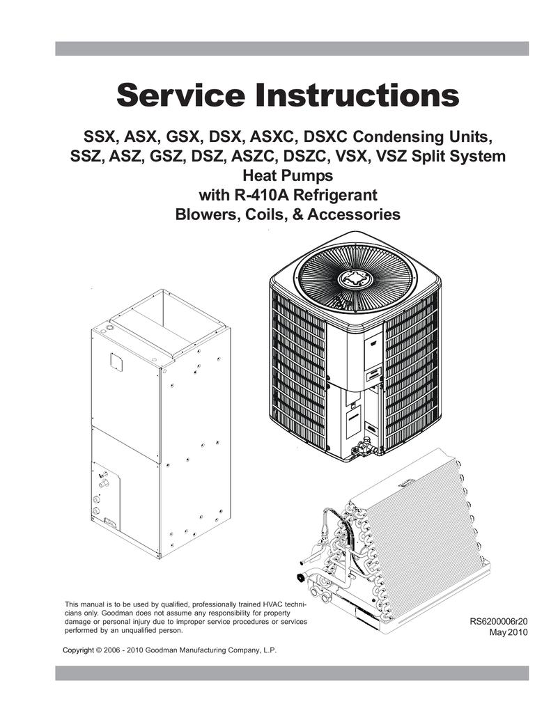 medium resolution of goodman heat pump manual