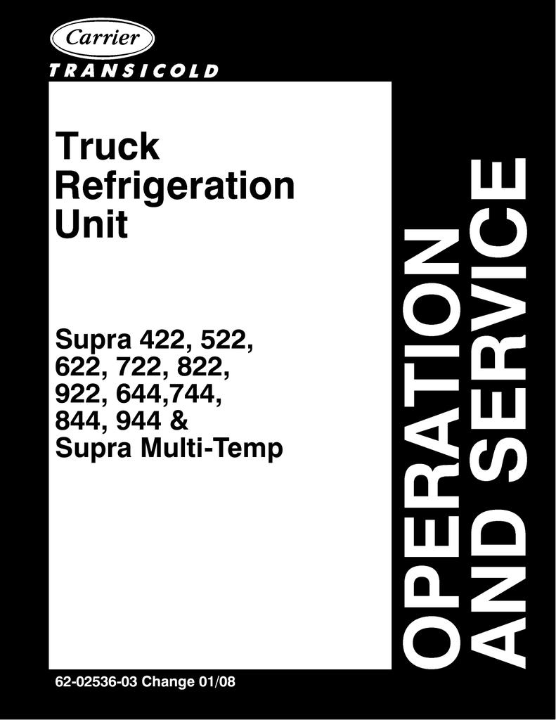 medium resolution of supra 422 522 supra multi temp sunbelt transport refrigeration manualzz com