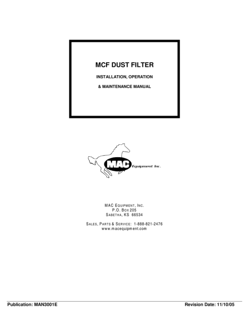 small resolution of mcf dust filter a resource for the packaging industry by bid on manualzz com