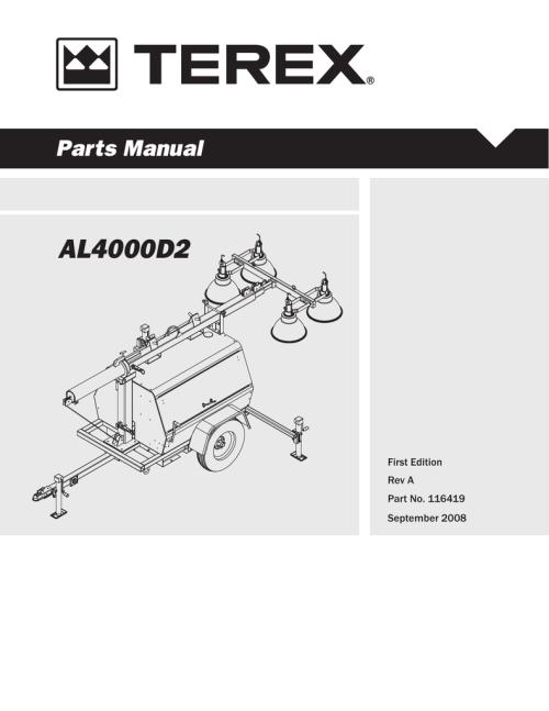 small resolution of al4000 light tower parts manual al4000d2 manualzz com