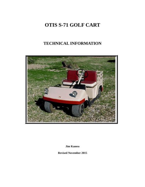 small resolution of otis s 71 electrics manualzz comotis s 71 electrics