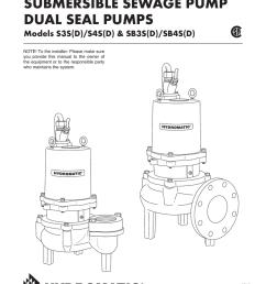 submersible sewage pump dual seal pumps [ 791 x 1024 Pixel ]