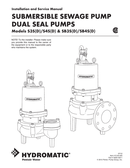 small resolution of submersible sewage pump dual seal pumps