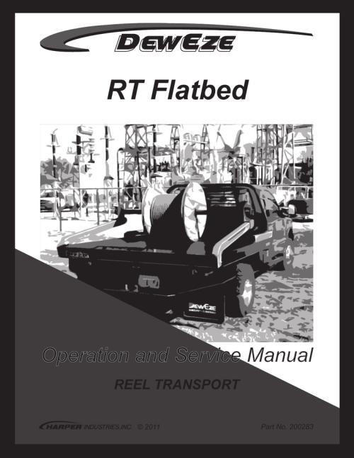 small resolution of rt flatbed reel transport manualzz com deweze wiring diagram