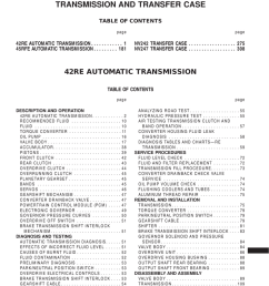 42re Wiring Diagram - download jeep 42re transmission