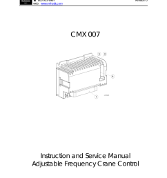 cmx 007 instructions service manual for adjustable frequency [ 791 x 1024 Pixel ]