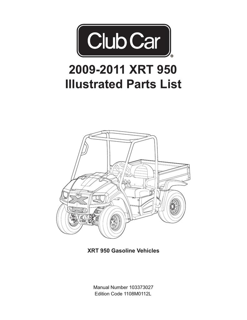 medium resolution of 2009 2011 xrt 950 illustrated parts list