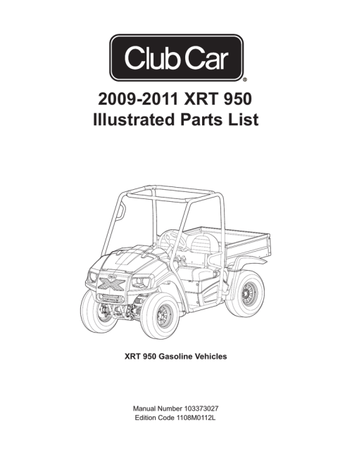 small resolution of 2009 2011 xrt 950 illustrated parts list