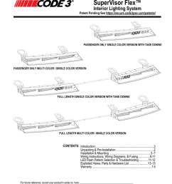 supervisor flex install manual [ 791 x 1024 Pixel ]