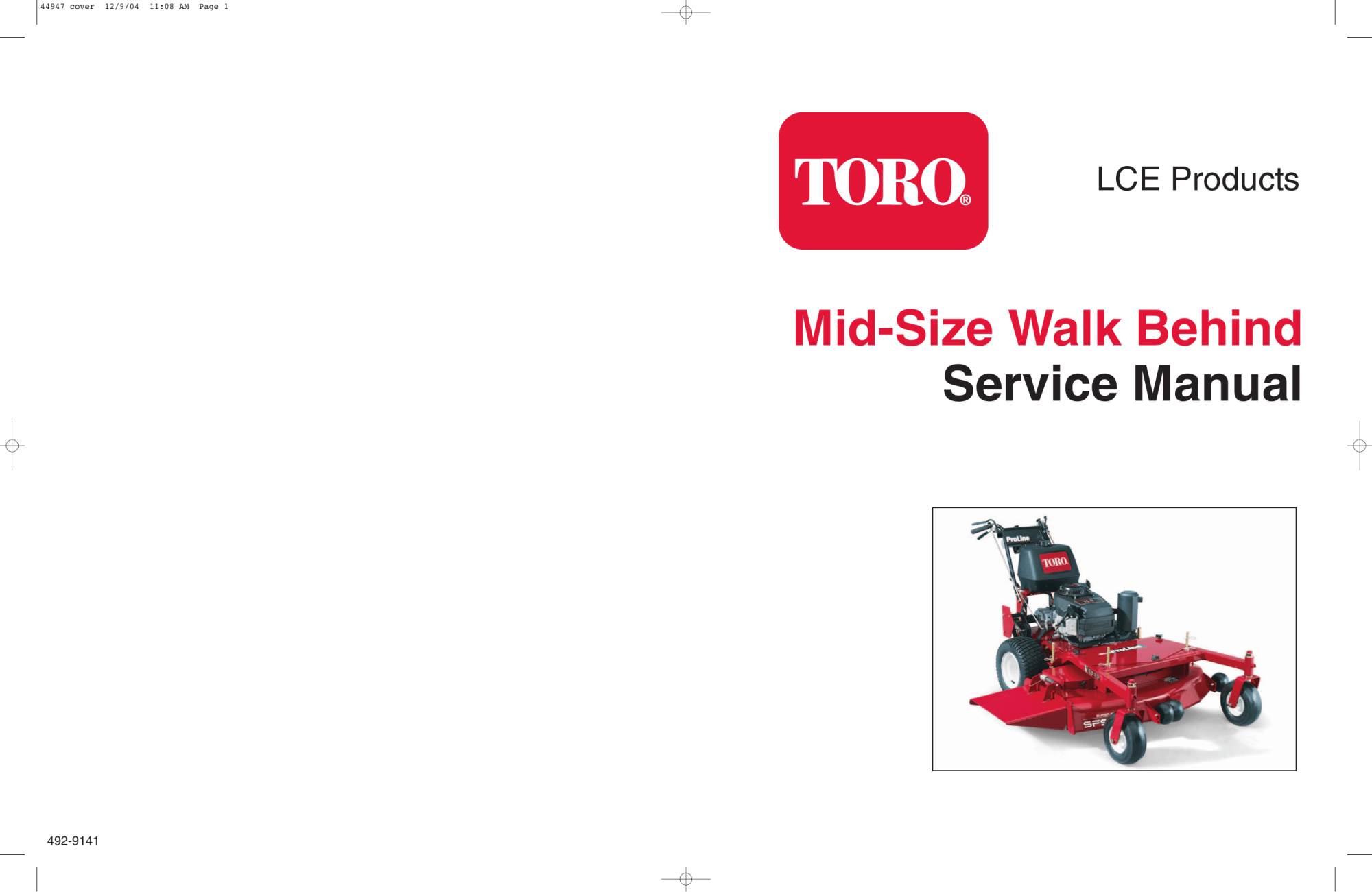 hight resolution of  service manual mid size walk behind manualzz com on toro z master wiring toro lawn mower