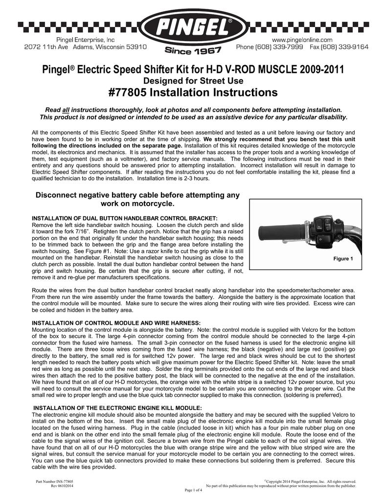 medium resolution of pingel electric speed shifter kit for h d v