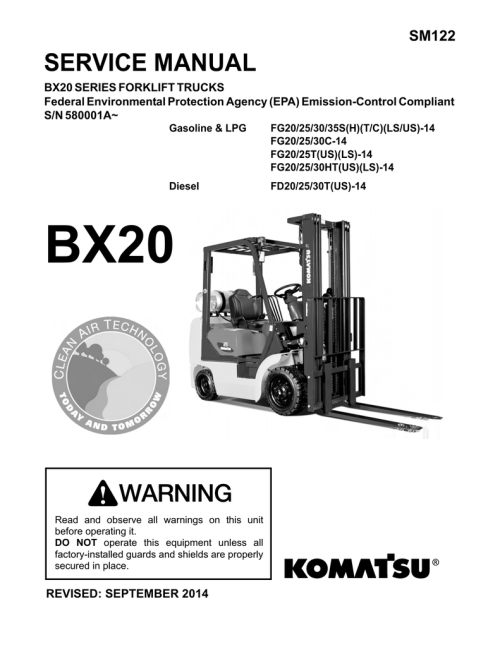 small resolution of service manual komatsu forklift usa inc v3 1