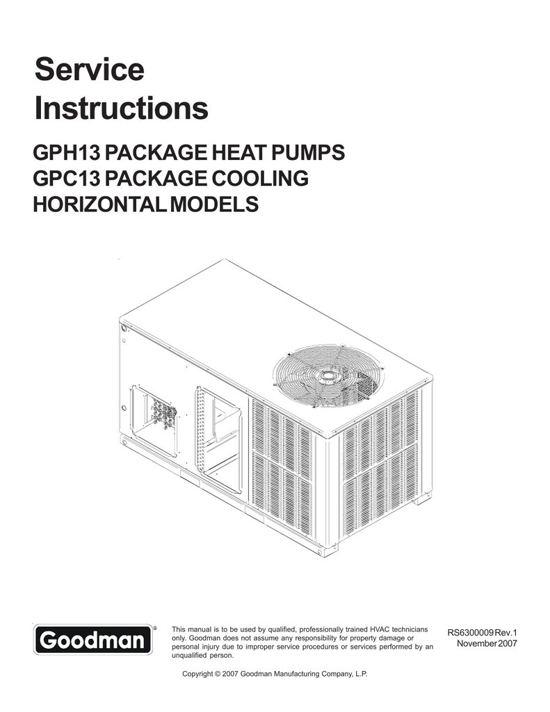 Hkr 10c Goodman Wiring Diagram Goodman Thermostat Wiring