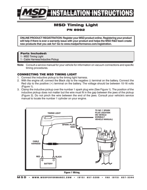 small resolution of timing light wiring diagram