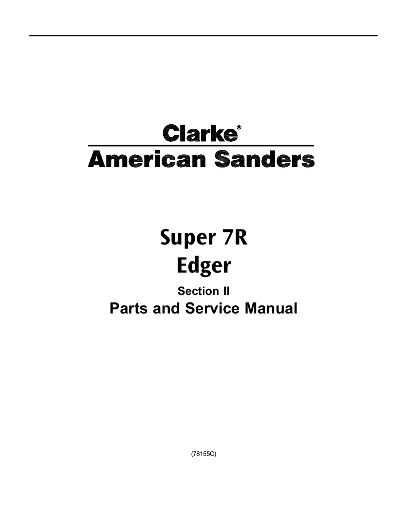 hight resolution of clarke s7 edger parts diagram pdf