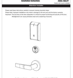 corbin russwin in120 mortise lock installation instructions [ 791 x 1024 Pixel ]