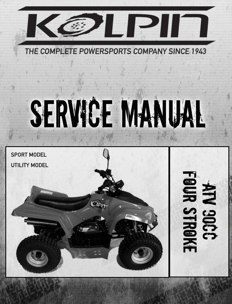 hight resolution of kolpin 90atv service manual
