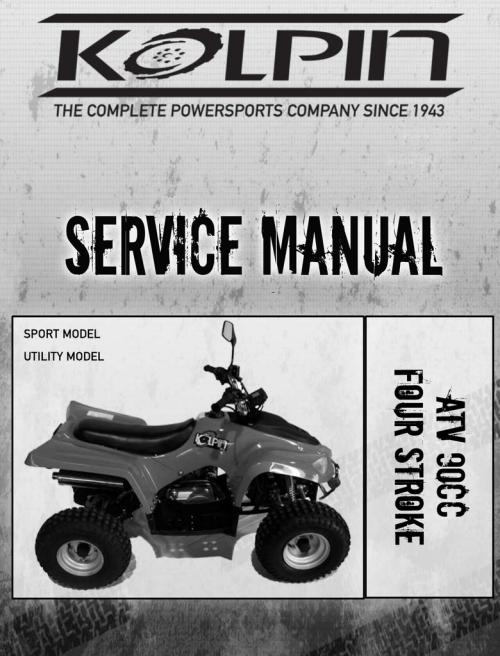 small resolution of kolpin 90atv service manual
