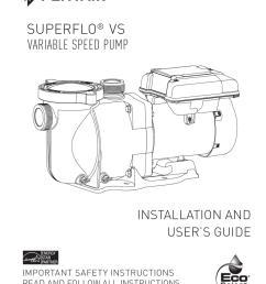 superflo vs owner s manual [ 791 x 1024 Pixel ]