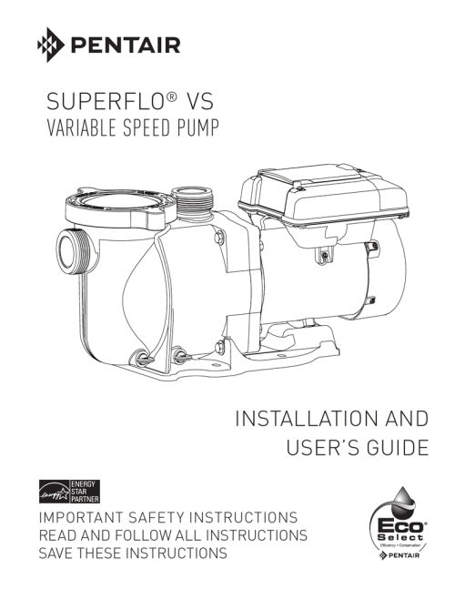 small resolution of superflo vs owner s manual