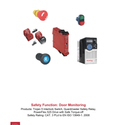 safety function door monitoring safety [ 791 x 1024 Pixel ]