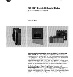 1747 2 38 slc 500 remote i o adapter module [ 791 x 1024 Pixel ]