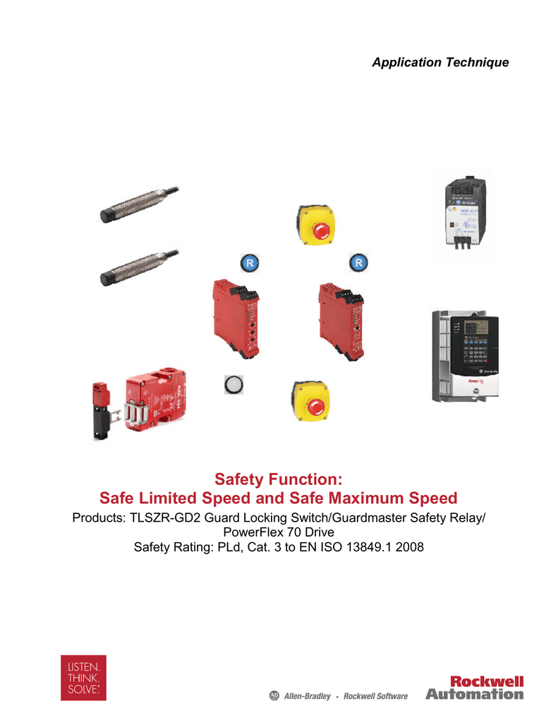 hight resolution of safety function rockwell automation