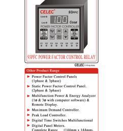 user manual apfc relay cat no 93 pfc [ 791 x 1024 Pixel ]