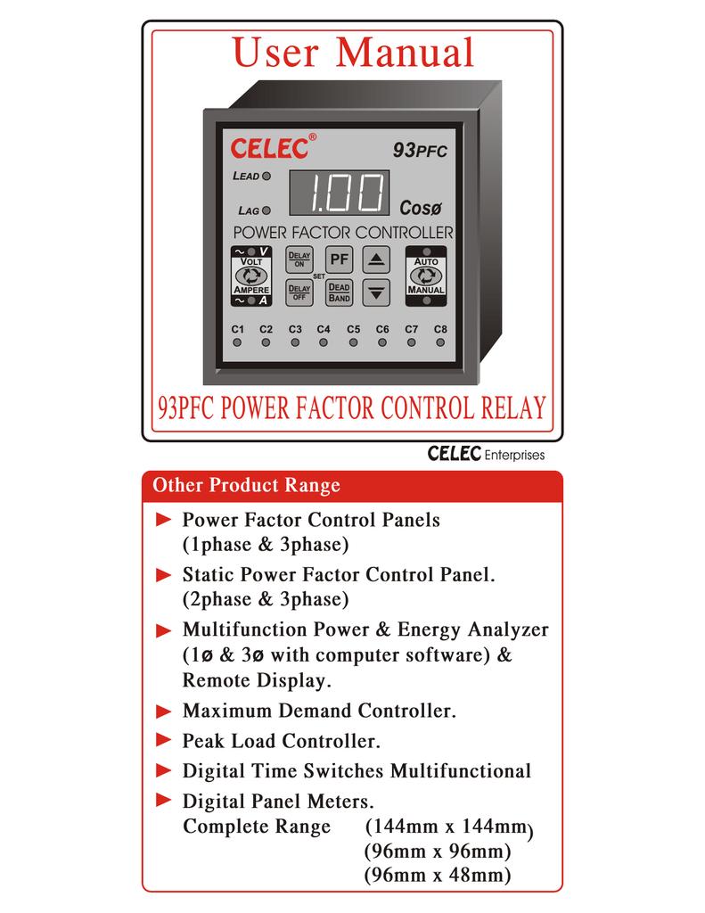 medium resolution of user manual apfc relay cat no 93 pfc