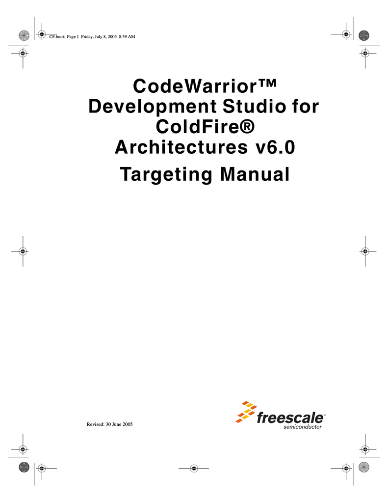 COLDFIRE 5272 MANUAL FILETYPE PDF