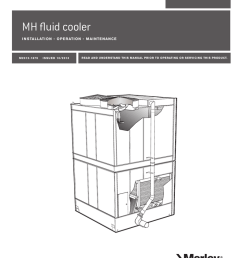 marley mh fluid cooler installation operation and maintenance [ 791 x 1024 Pixel ]