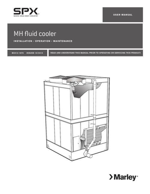 small resolution of marley mh fluid cooler installation operation and maintenance