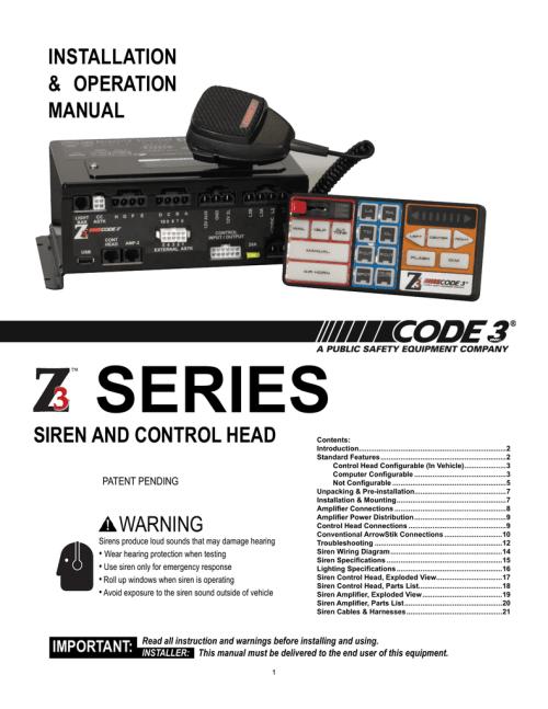 small resolution of z3 hardware installation operation manual rev 0